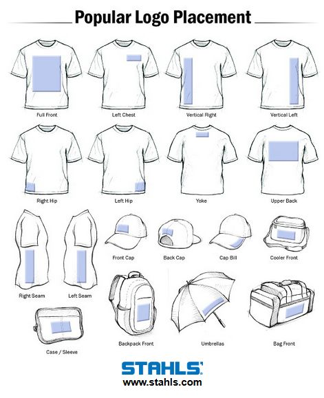 11 best design placement vinyl tip sheets resources for Tee shirt logo placement