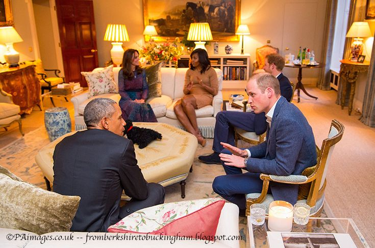 Kate Gives Peek Into Kensington Palace During Obama Dinner Party