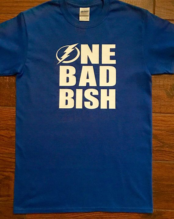 One Bad Bish TAMPA BAY LIGHTNING Shirt by SweetDelilahB on Etsy