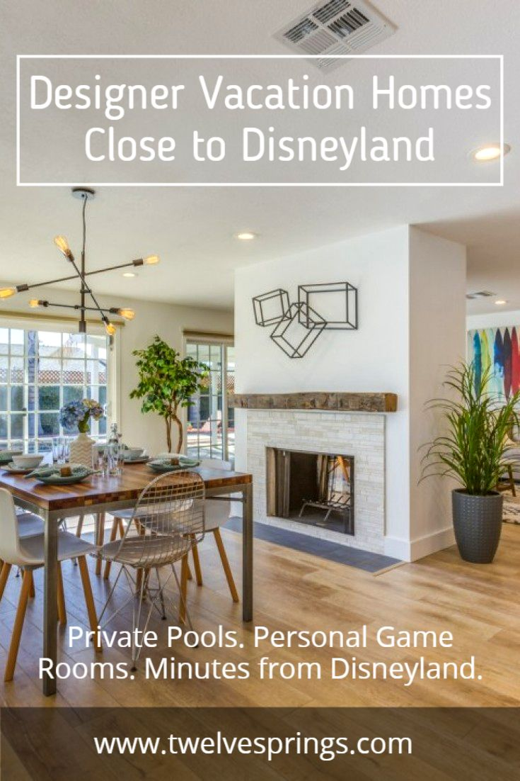 It's time for Spring Break! Save 20% off April bookings with code SB16PINTEREST. All of our homes are located only minutes away from Disneyland and include private pools, personal game rooms, keyless entry, concierge service, and more. Visit our site to learn more about our gorgeous vacation homes in Anaheim, CA.