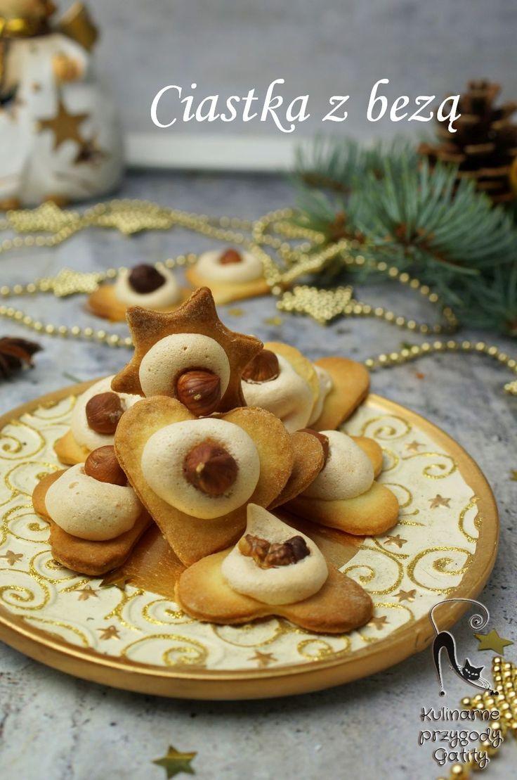 Kulinarne przygody Gatity - przepisy pełne smaku: Kruche ciasteczka z bezą