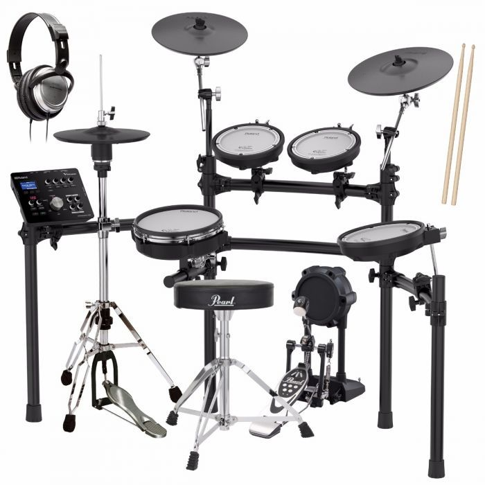 Roland TD-25K V-Drums Electronic Drum Set DRUM ESSENTIALS