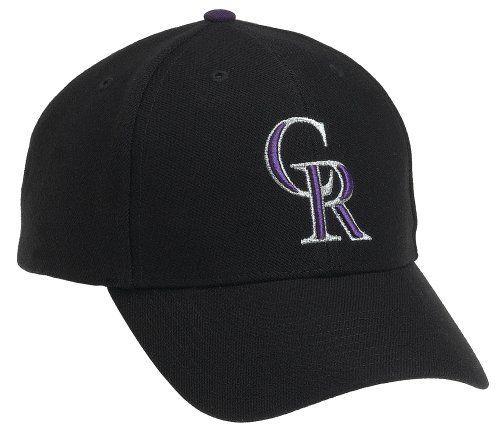 Colorado Rockies MVP Adjustable Cap,Black '47 Brand. $18.44