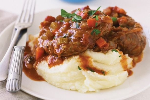 Osso Bucco (don't forget to use GF Flour and Stock)