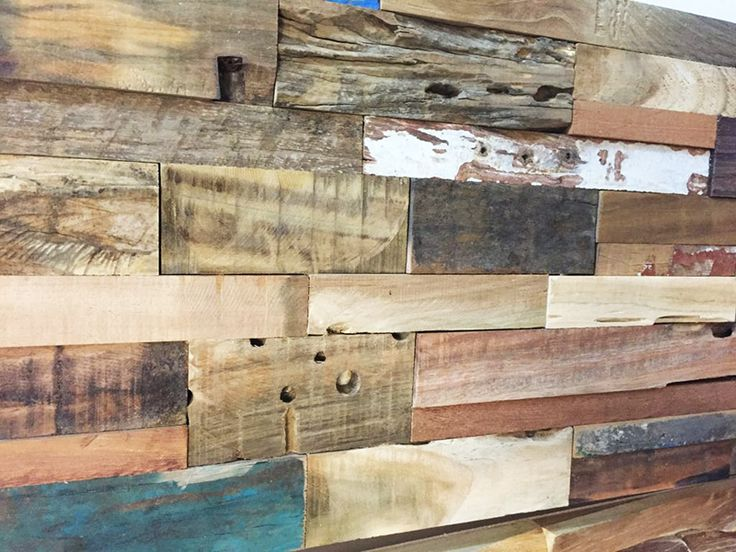 Upcycled 3D wall panel