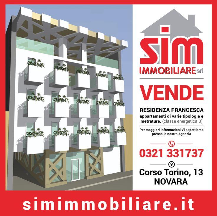 """Nuova costruzione """"Residenza Francesca"""" Novara"""