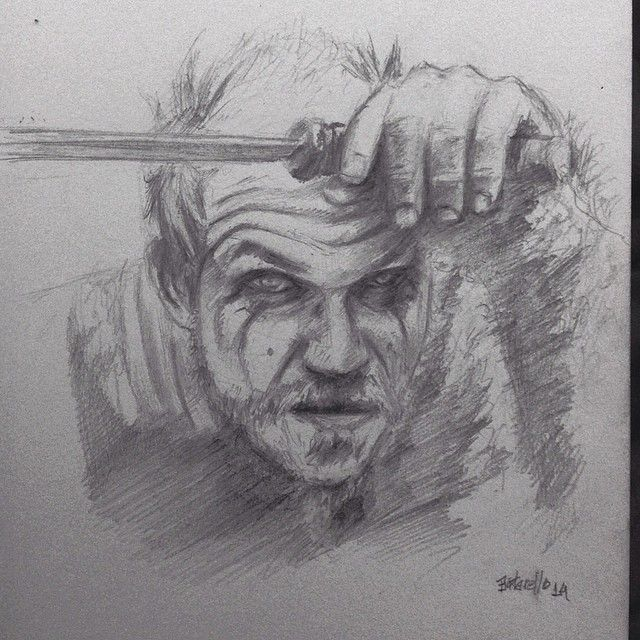 Just finished the season two of Vikings! \o/ think I would share a quick sketch of one of my preferred characters: Floki. Hope you like. Thanks for looking! Ótima segunda temporada de vikings! Achei que podia compartilhar o sketch rápido que fiz de um de meus personagens prediletos no seriado: Floki. Espero que gostem. Obrigado por olhar!