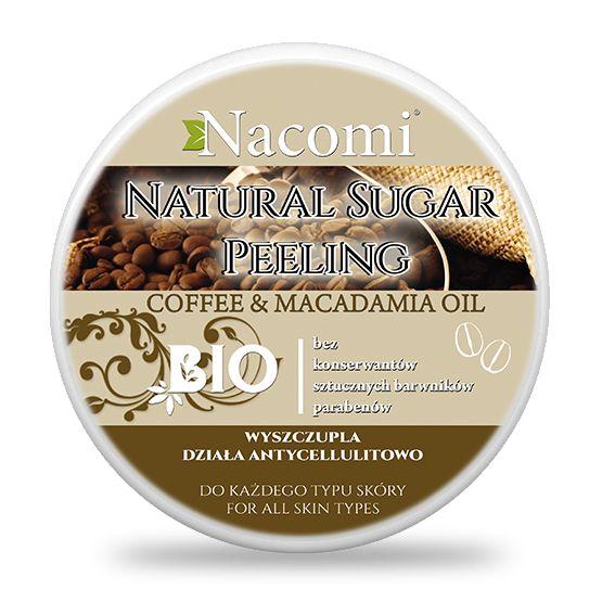 Peeling cukrowy kawa – macadamia - Nieprzyzwoicie naturalny sklep dla kobiet lubiących siebie