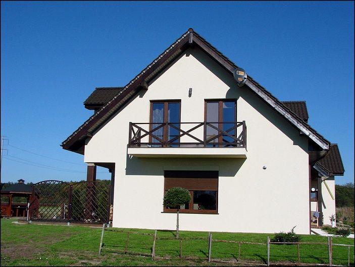Elewacja boczna domu  #projekt #dom #elewacja