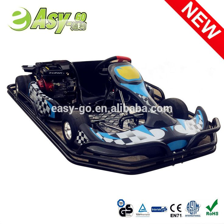 200cc/270cc adults racing go kart for sale with steel safety bumper pass CE certificate