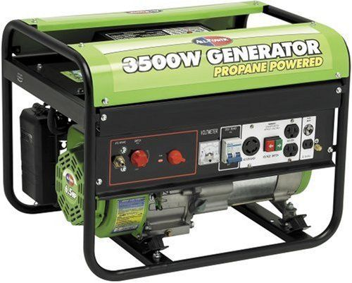 All Power America APG3535CN 3500 Watt 6.5 HP OHV Propane Powered Generator