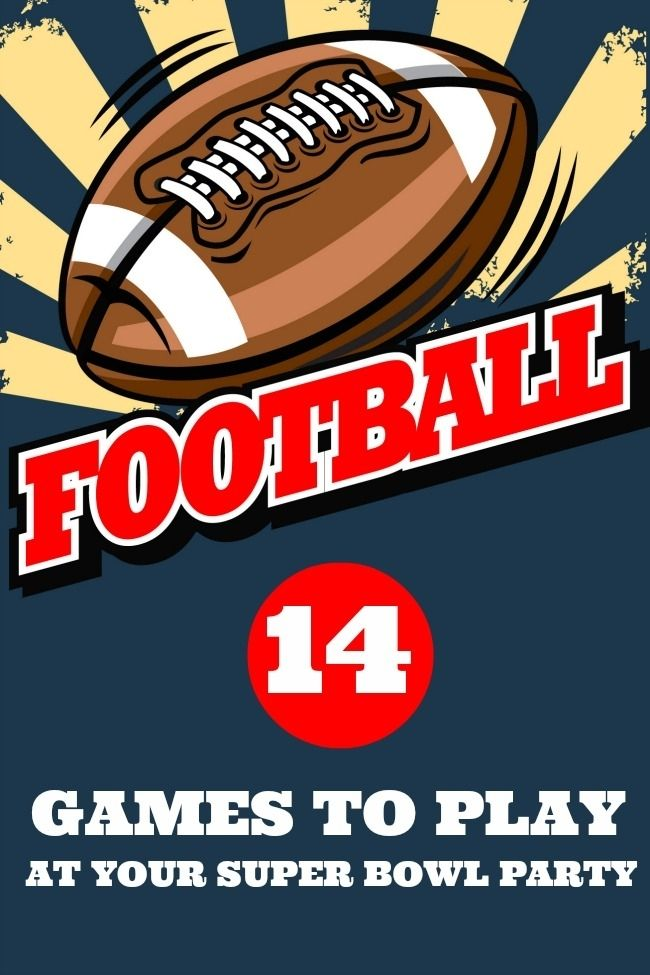 Play Your Card Right On Pinterest: 14 Games To Play At Your Super Bowl Party