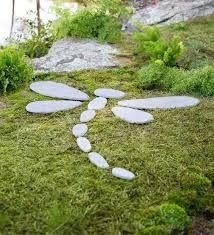 Afbeeldingsresultaat voor staptegels tuin afbeelding