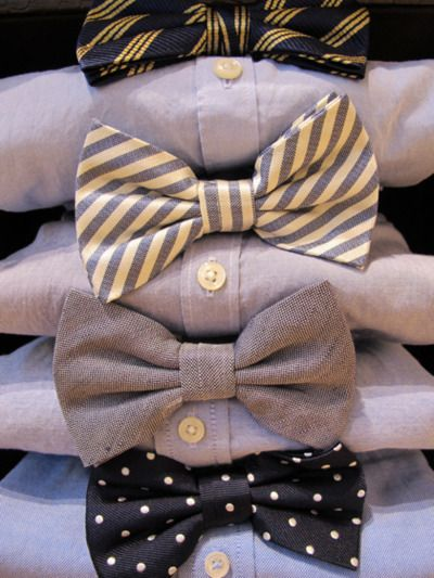 WHY don't I have any bowties?  By the time I get one they're gonna be on their way out.  Again.
