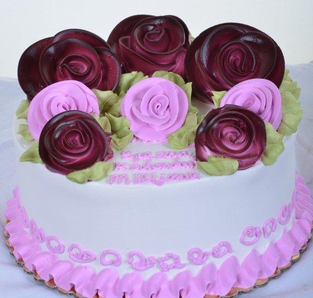 28+ gâteau aux roses joyeux anniversaire   – birthday cake simple