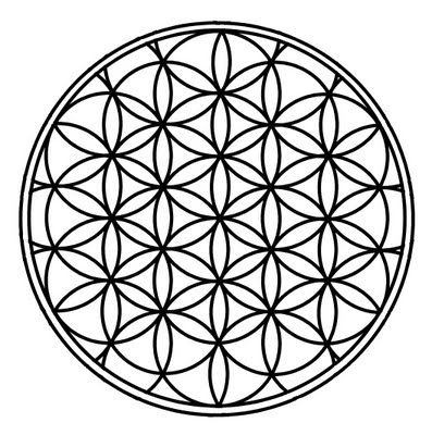The Flower of Life is a sacred geometric symbol of the pattern of the universe and can be found in many religions and cultures of the world, one of the oldest sacred symbols known to man. It has deep spiritual meaning and is believed to contain the patterns of creation as they emerged from the Great Void...