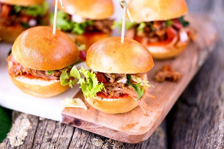Pulled Pork -miniburgerit