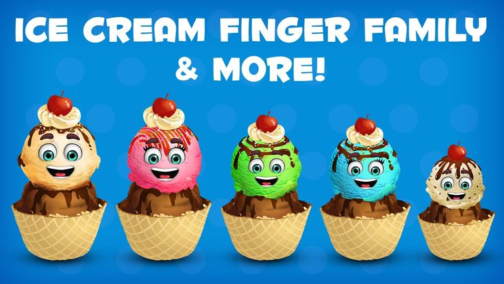 """Ice Cream Finger Family Collection 