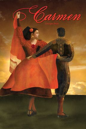 Carmen. One of the most popular of operas. The title character is known for manipulating men. One of her victims, a Spanish soldier arranges for her to escape from jail, but she later abandons him for a bullfighter, and he stabs her.
