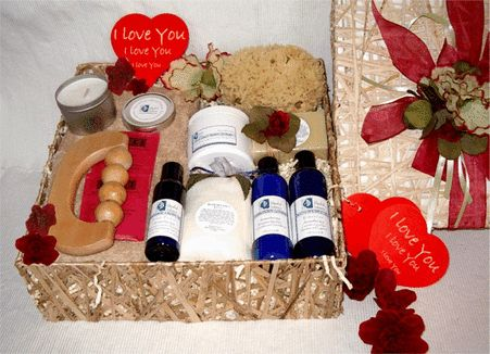 I Love You Spa Gift Basket:  Make her/him feel loved and appreciated by giving a pampering spa weekend at home to indulge in absolute luxury. Draw a warm bath, listen to the relaxation CD, and light the aromatherapy candle... relax and refresh your body as you soak in the bath sea salts and inhale deeply to benefit from the pure essential oils. The skin will be silky smooth as the aromatherapy continues to elevate the conscious mind…
