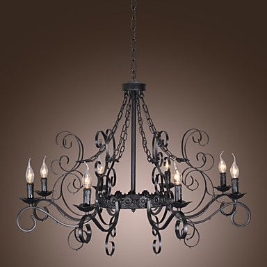 Stylish Chandelier with 8 Lights in Antique Style – USD $ 259.99 NEW house dining room fixture