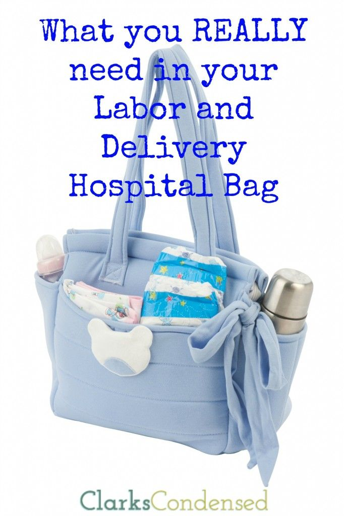Here's what you really need in your labor and delivery hospital bag!