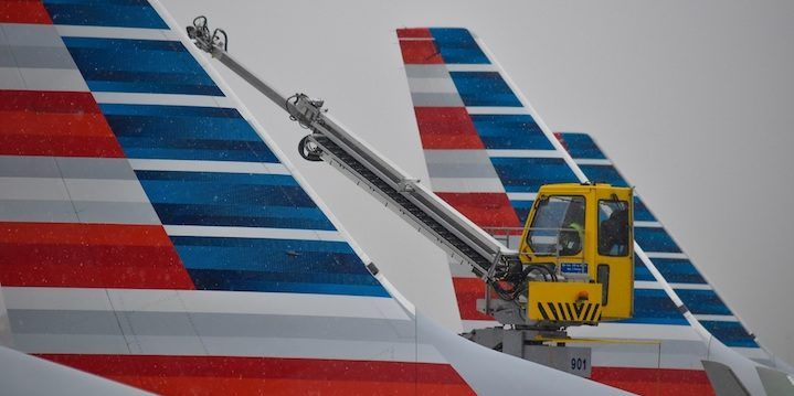 How to reset your entertainment system on an American Airlines flight