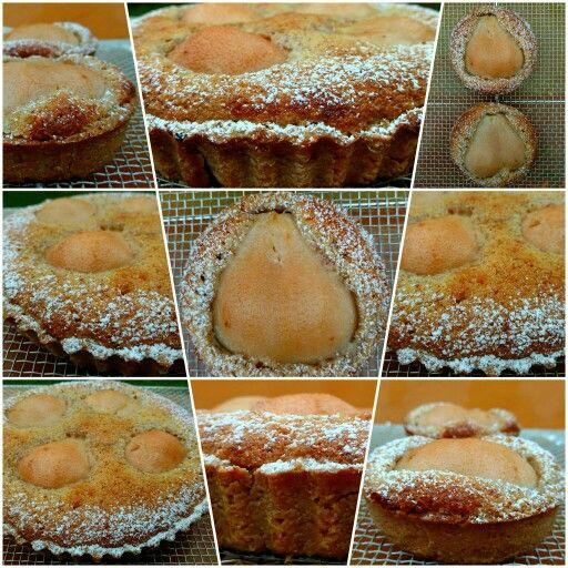 • Tarta de peras y almendras •