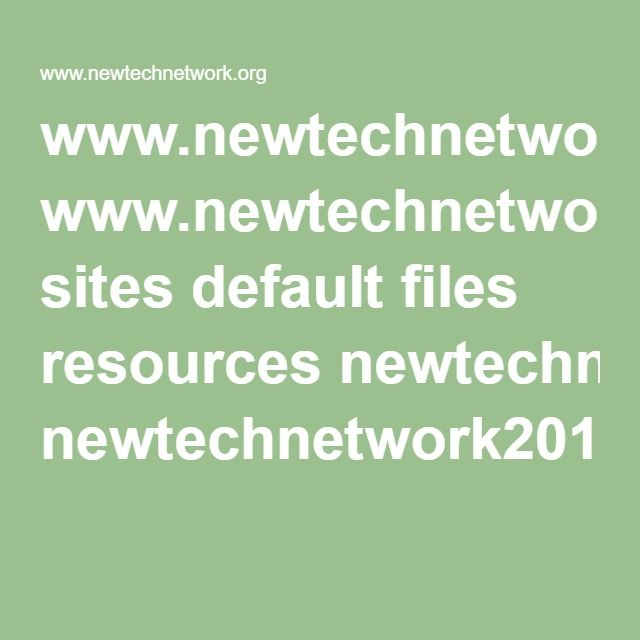 www.newtechnetwork.org sites default files resources newtechnetwork2015studentoutcomesreport.pdf