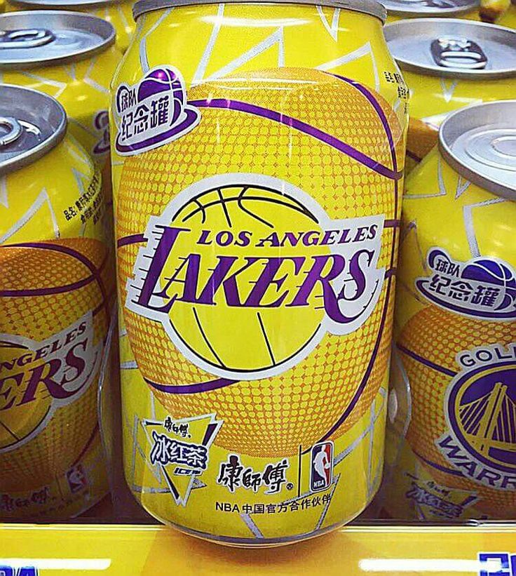 Los Angeles Lakers Soft Drinks