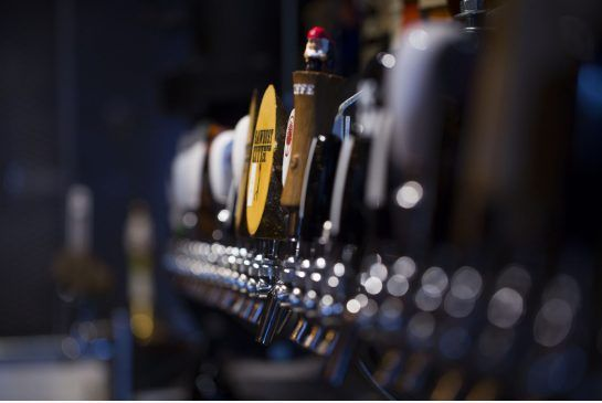 The 36 beer taps at the new Bar Hop Brew Co on Peter St. serve the overflow crowd from the King St. W. original.