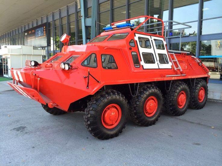 WARFARE TECHNOLOGY: BTR-60 Fire Rescue HEMUS 2014