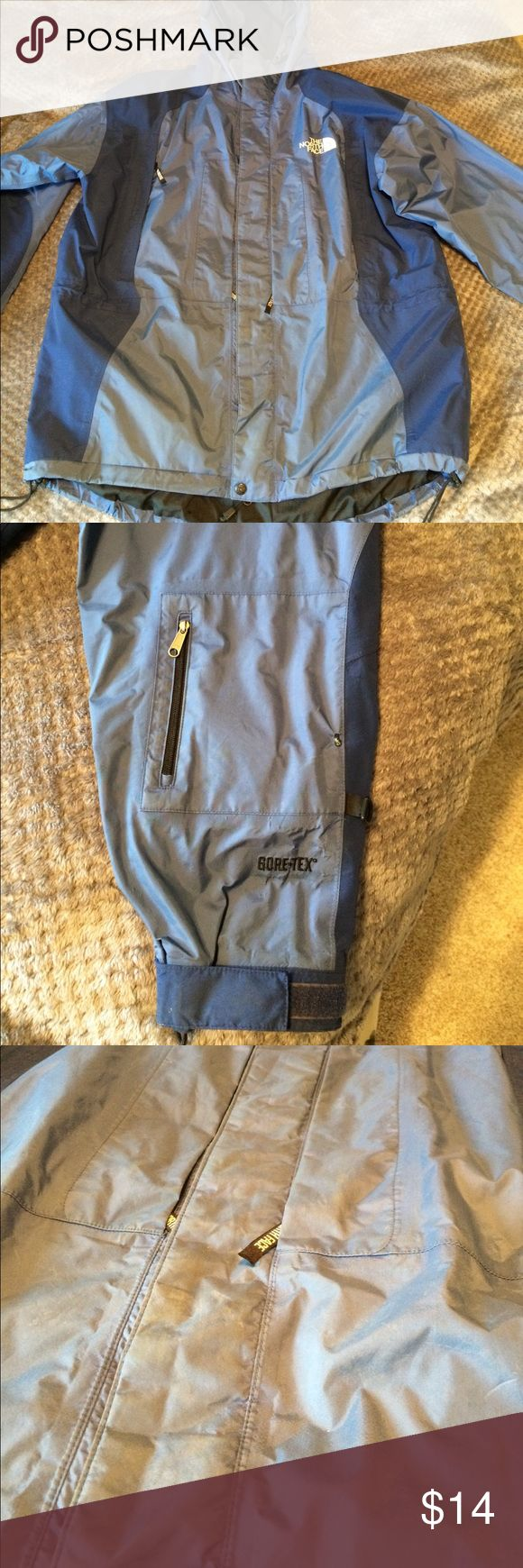 North face rain coat Men's raincoat. Used .. needs a good wash but otherwise in good condition. Doesn't fit. North Face Jackets & Coats Raincoats
