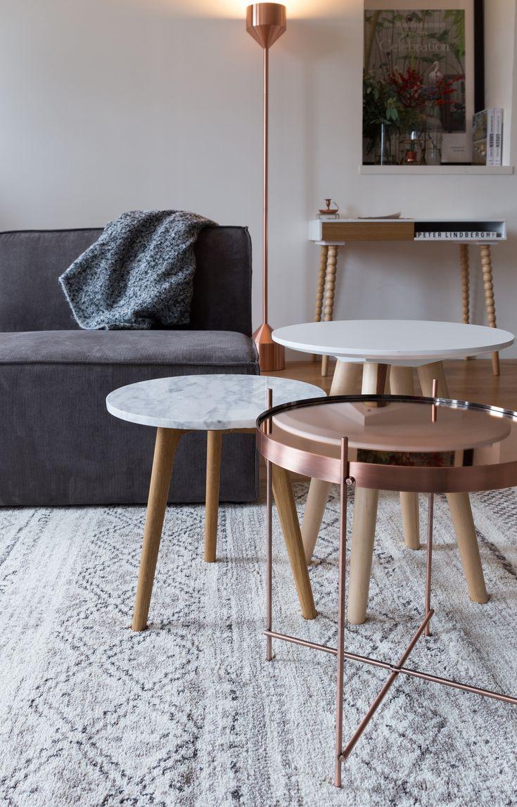 Torch copper floor lamp