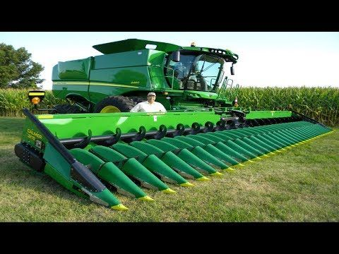 World Amazing Modern Agriculture Equipment and Mega Machines Tractor, Harvester, Loader - TOP.Do - YouTube