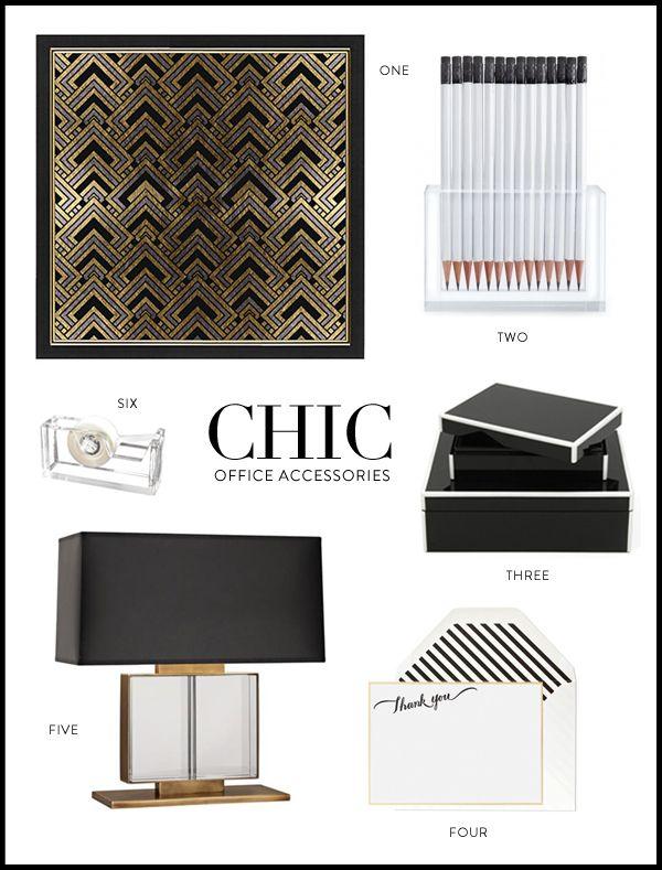 Chic Office Accessories Via Meg Biram