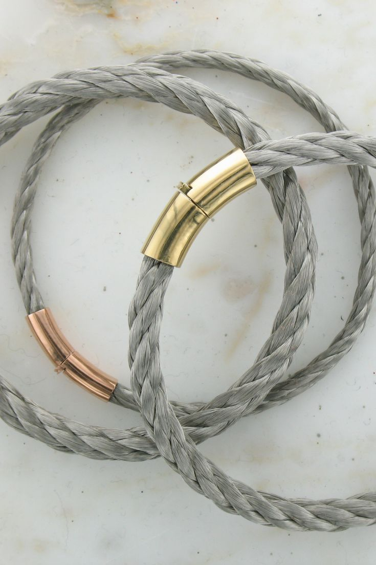 Our own Wong Ken collection of cable bracelets.