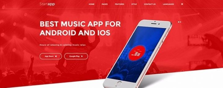 JM App - responsive Joomla template that comes with many features to help you to promote and sell your app or software products. #Joomla #template #app #apps #software
