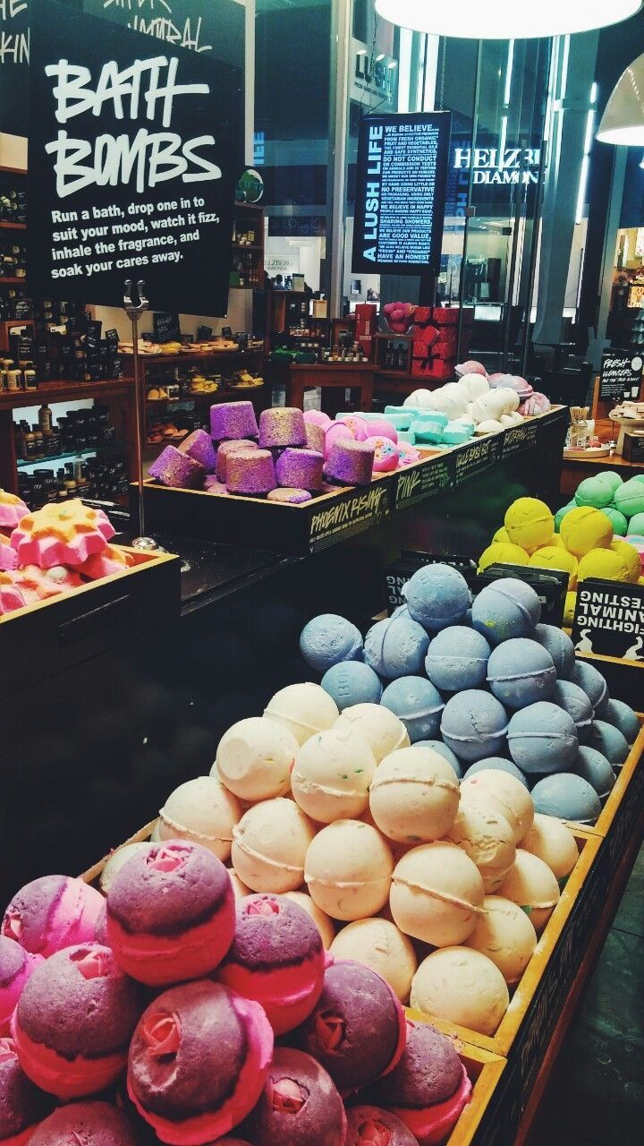 MK-UP — LUSH - Bath Bombs @mk-up