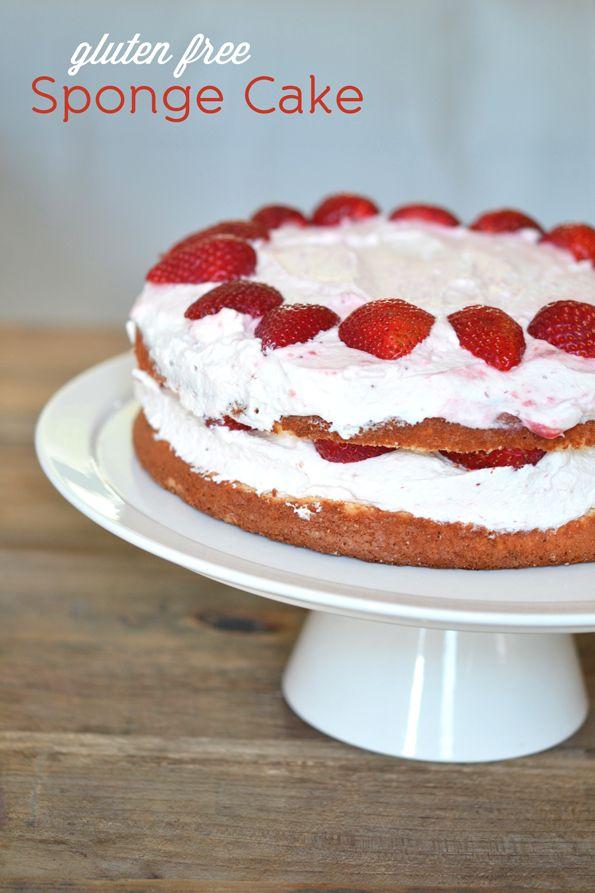 Gluten Free Sponge Cake | Gluten Free on a Shoestring