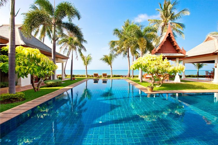 Soft sands, azure water, warm sun and a stylish villa are the signature elements of a #luxury #beach #vacation.