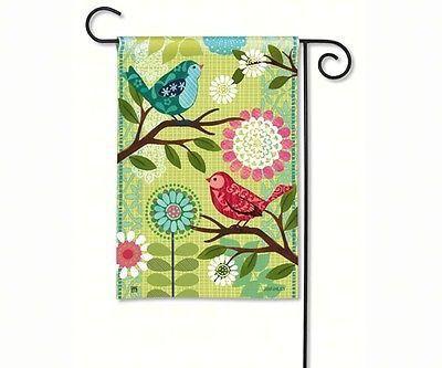 Tweet Bird Garden Flag