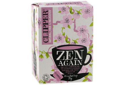 """Terveystuotteet - Clipper """"Zen Again"""" yrttitee mietiskelyyn, luomu 35 g"""