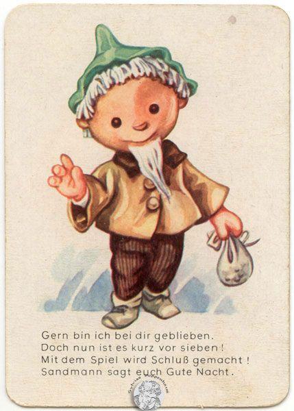 Sandmann-Quartett DDR-Spielzeug III vom Virtuellen Museum für DDR-Spielzeug...von Sylvia's Puppenhaus  © Sylvia Wentzlau