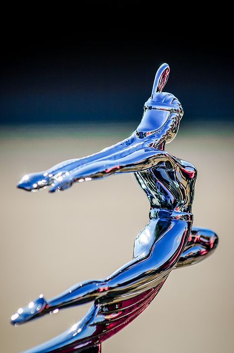 1935 Pontiac Hood Ornament by Jill Reger