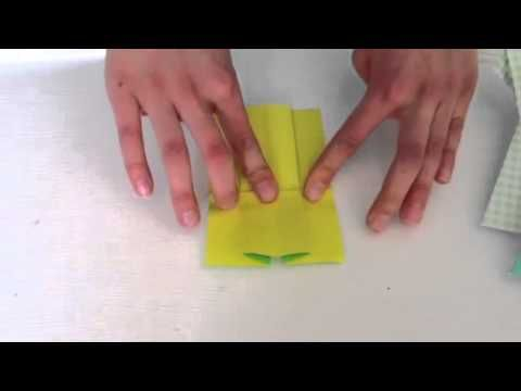 How To Fold an Origami Dress - YouTube