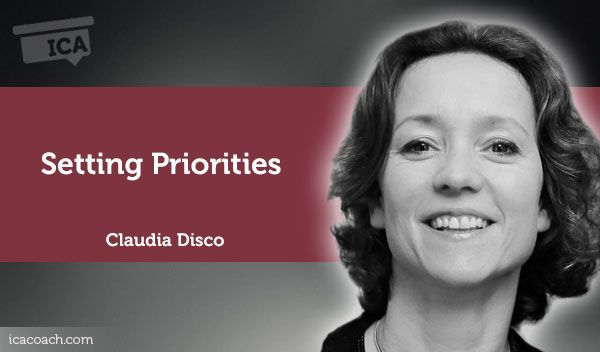 Coaching Case Study: Setting Priorities  Coaching Case Study By  Claudia Disco (Expatriate Coach, UNITED STATES)