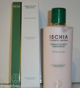 CREMA FLUIDA IDRATANTE all'acqua termale con olio di mandorle dolci elastina marina www.ilgiardinodischiaerboristeria.com