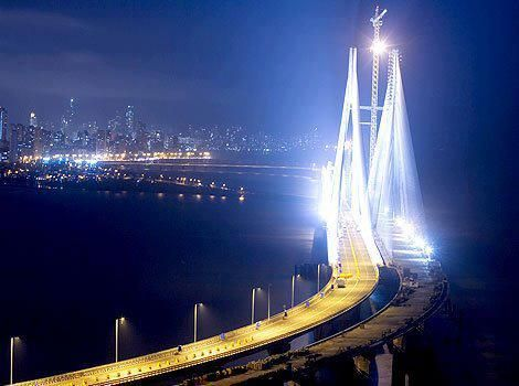 The Bandra–Worli Sea Link, also known as the Rajiv Gandhi Sea Link, is a cable-stayed bridge with pre-stressed concrete-steel viaducts on either side that links Bandra & the western suburbs of Mumbai with Worli. The main cable-stayed span   BWSL was designed as the 1st cable-stayed bridge to be constructed in open seas in India. The superstructure of the viaducts are the heaviest precast segments to be built in India. The 20000 tonne Bandra-end span of the bridge deck is supported by stay…