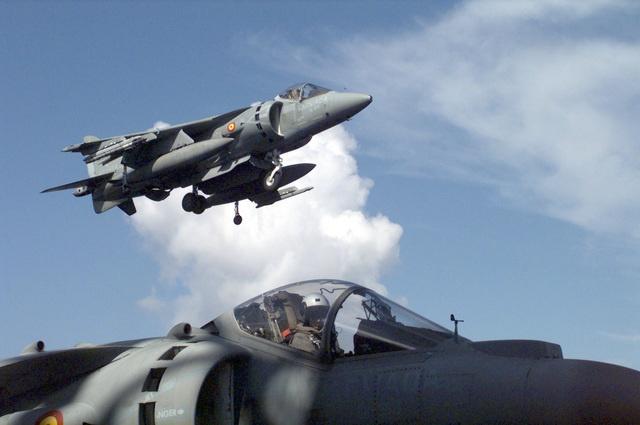 AV-8B Harrier II Plus, Spanish Navy.